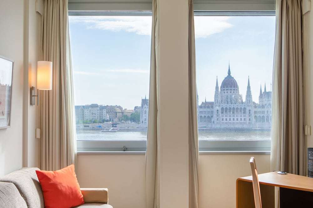 View from Room, Novotel Budapest Danube