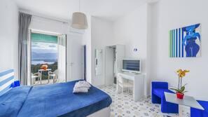 In-room safe, individually furnished, desk, cots/infant beds
