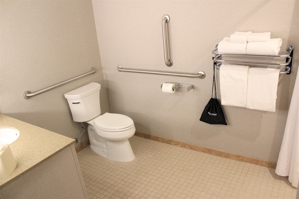 Bathroom, Holiday Inn Express Hotel & Suites Cheney-University Area, an IHG Hotel