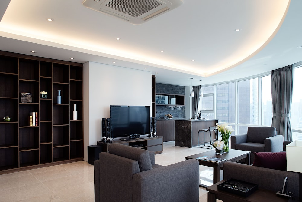 Living Area, Fraser Place Central Seoul