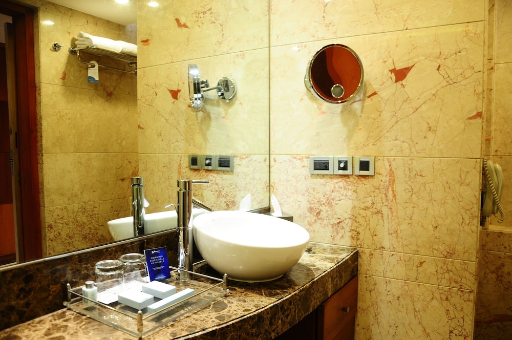 Bathroom Sink, Radisson Blu Plaza Delhi Airport