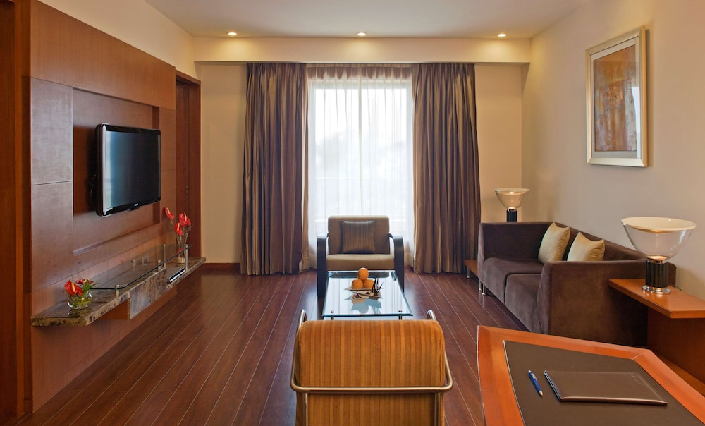 Living Area, Radisson Blu Plaza Delhi Airport