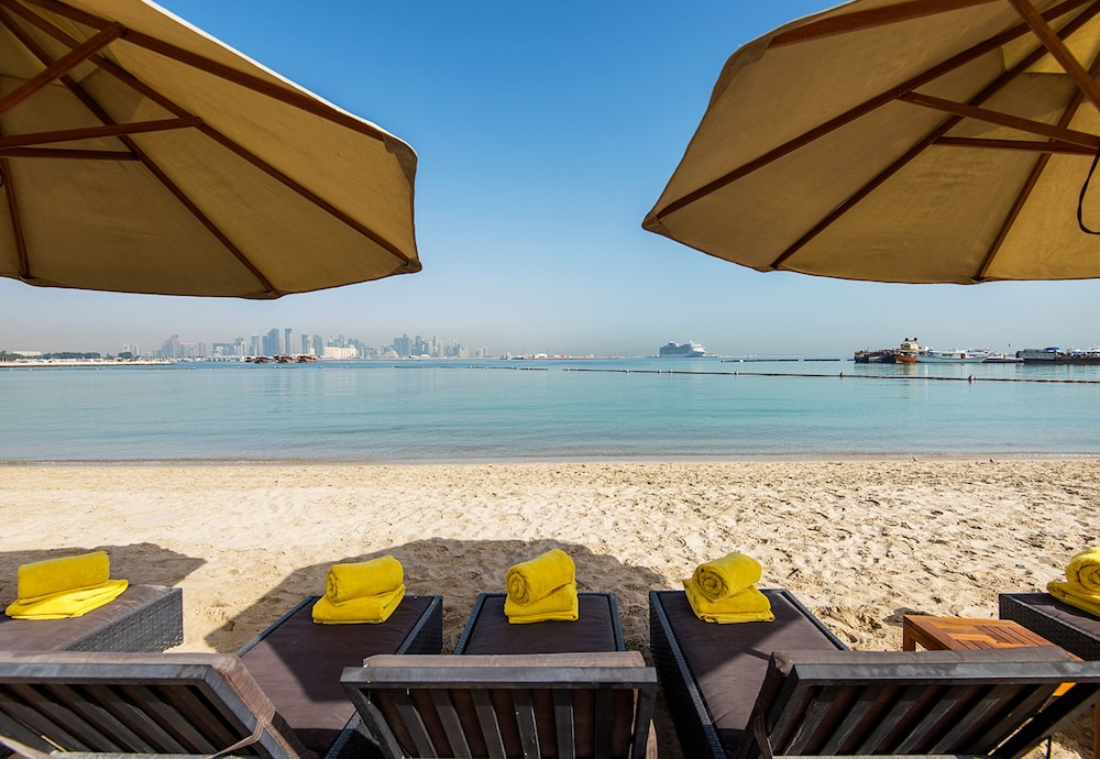 Beach, Sharq Village & Spa, a Ritz-Carlton Hotel