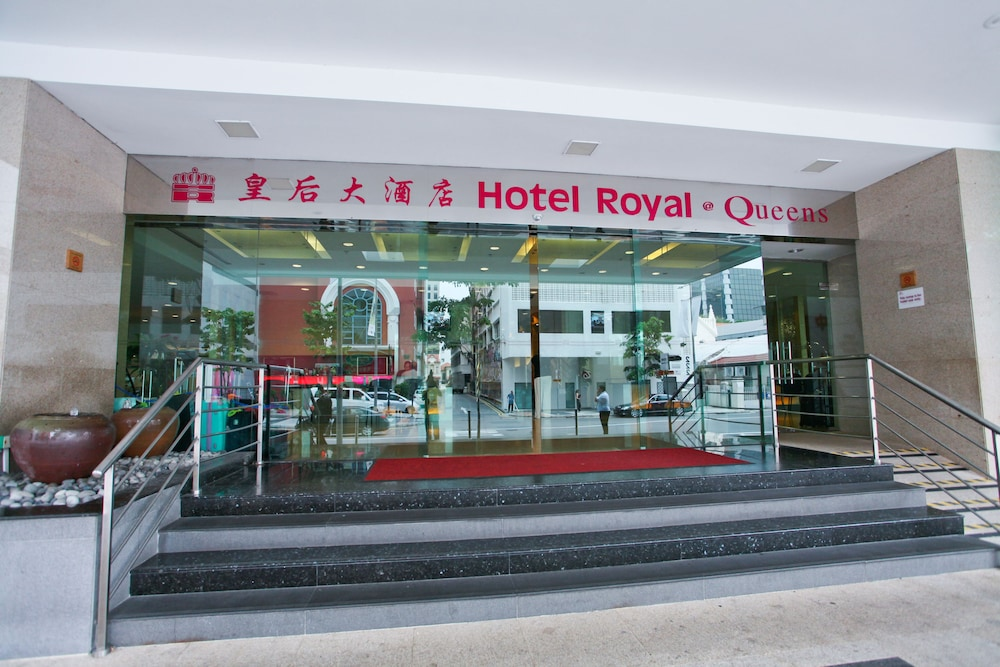 Property Entrance, Hotel Royal @ Queens (SG Clean)