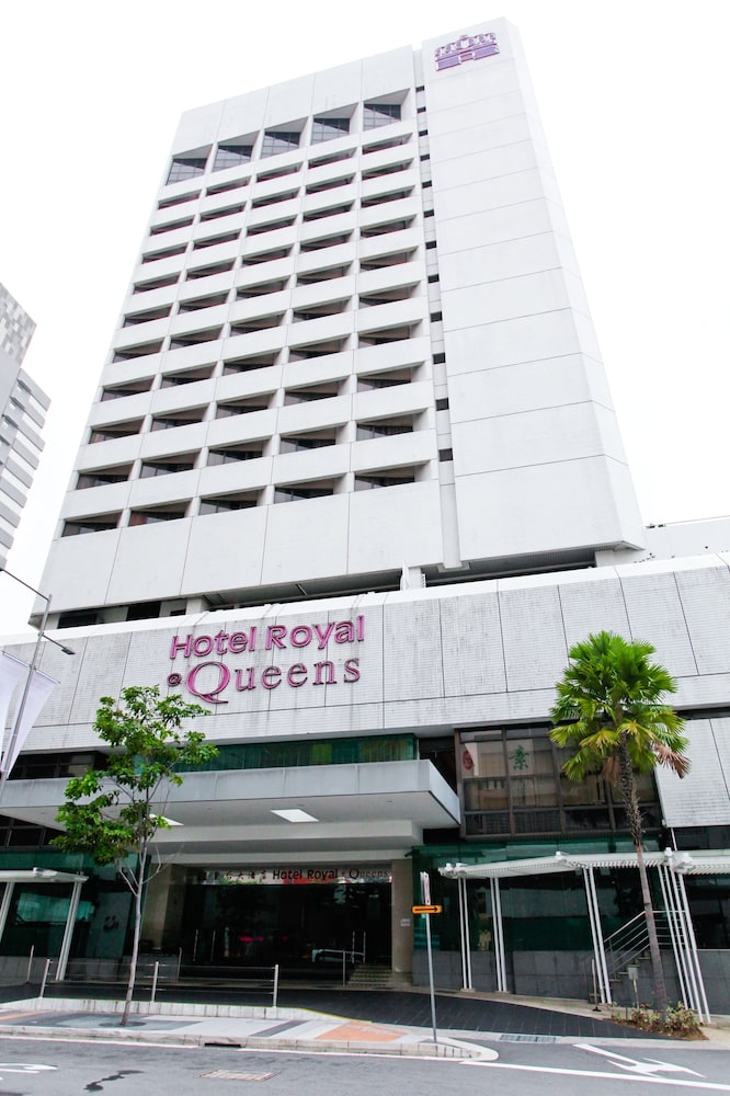 Front of Property, Hotel Royal @ Queens (SG Clean)