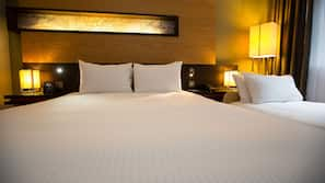 Premium bedding, in-room safe, desk, blackout curtains