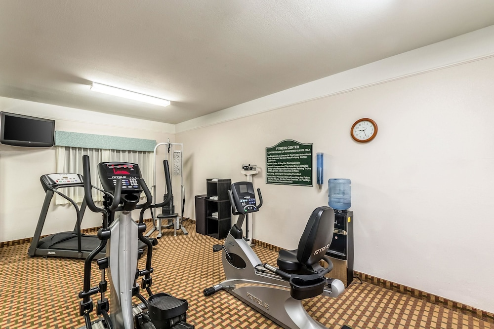 Fitness Facility, Quality Inn & Suites SeaWorld North
