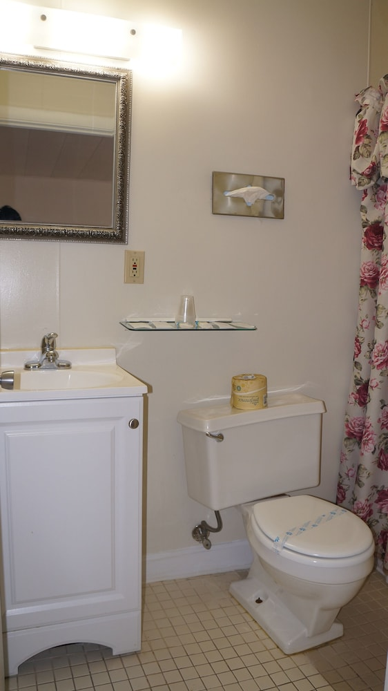 Bathroom, Oakdell Motel
