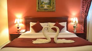Matelas Select Comfort, minibar, coffre-forts dans les chambres, bureau