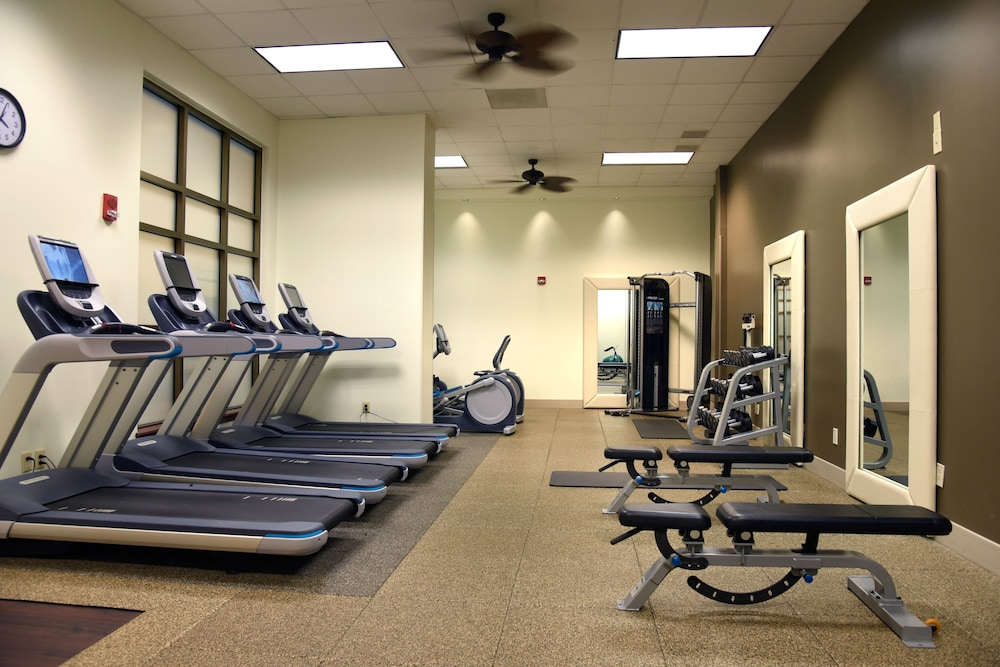 Gym, Embassy Suites by Hilton Charlotte-Concord-Golf Resort & Spa