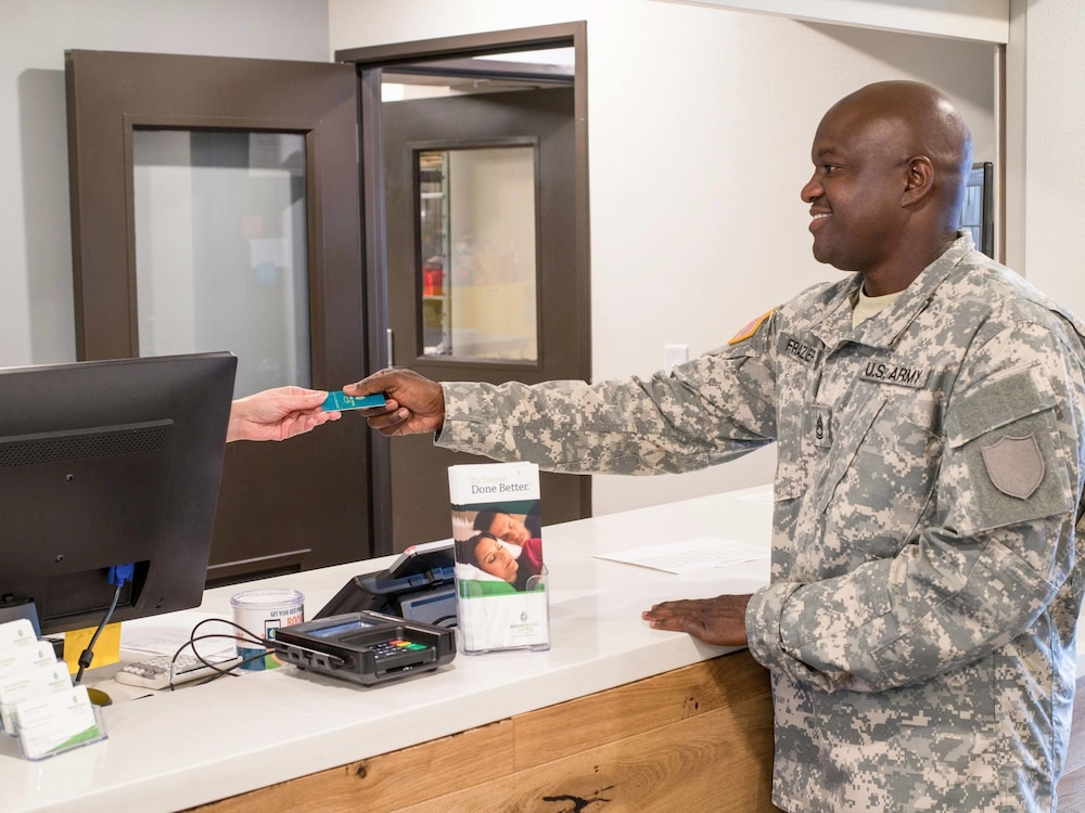 Check-in/Check-out Kiosk, WoodSpring Suites Charleston Airport