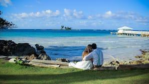 Playa privada, buceo con tubo y kayak