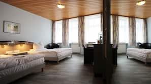 Allergikerbettwaren, Daunenbettdecken, Zimmersafe, kostenlose Babybetten