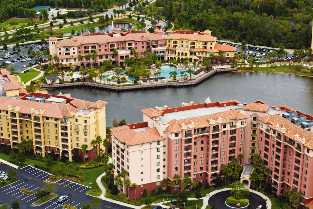 Aerial View, Club Wyndham Bonnet Creek