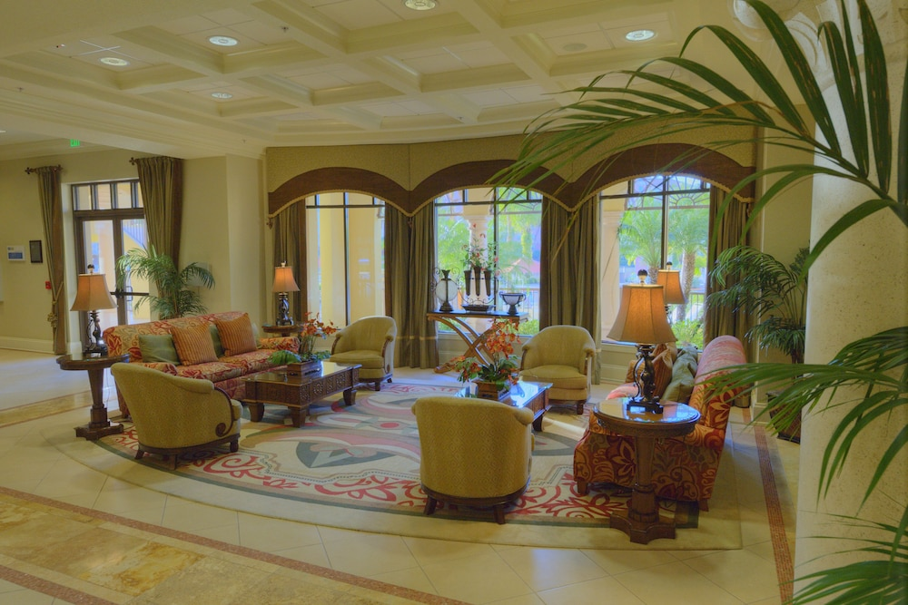 Lobby Sitting Area, Club Wyndham Bonnet Creek