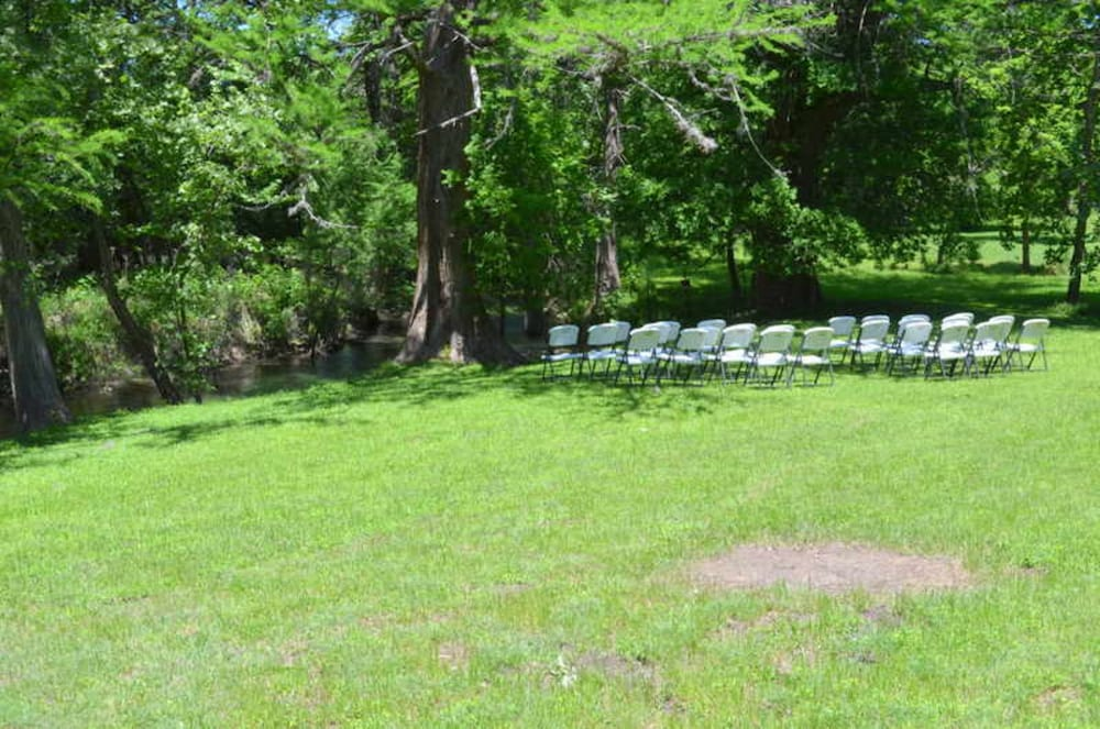 Outdoor Wedding Area, Utopia River Retreat