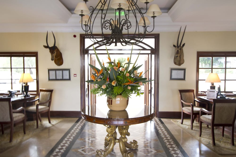 Interior Entrance, Fairmont Mount Kenya Safari