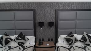 In-room safe, blackout curtains, free WiFi