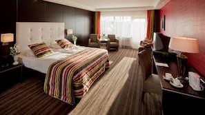 Een kluis op de kamer, gratis wifi, een wekker
