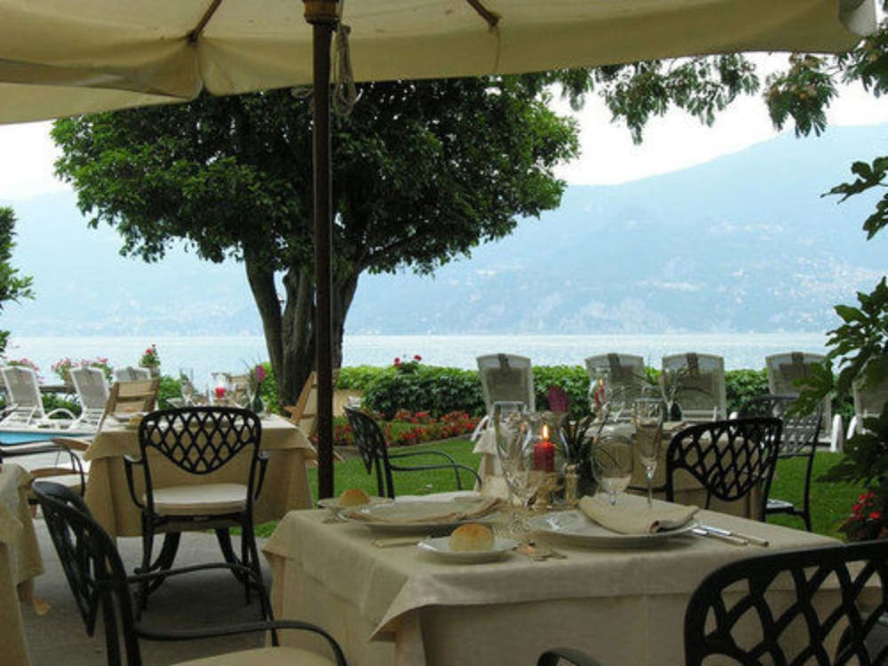 Outdoor Dining, Grand Hotel Menaggio