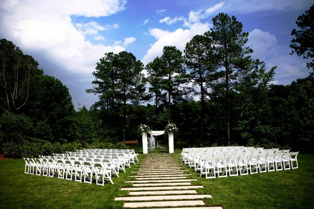 Outdoor Wedding Area, The Umstead Hotel and Spa
