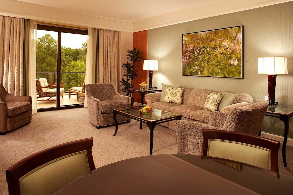 Living Area, The Umstead Hotel and Spa