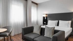 Premium bedding, down duvet, minibar, in-room safe