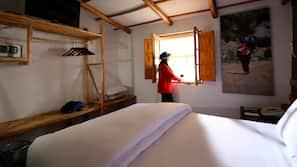 Caja fuerte, cunas o camas infantiles gratuitas, ropa de cama