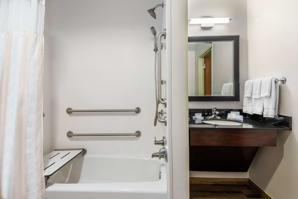 Bathroom, Hilton Garden Inn West Palm Beach Airport