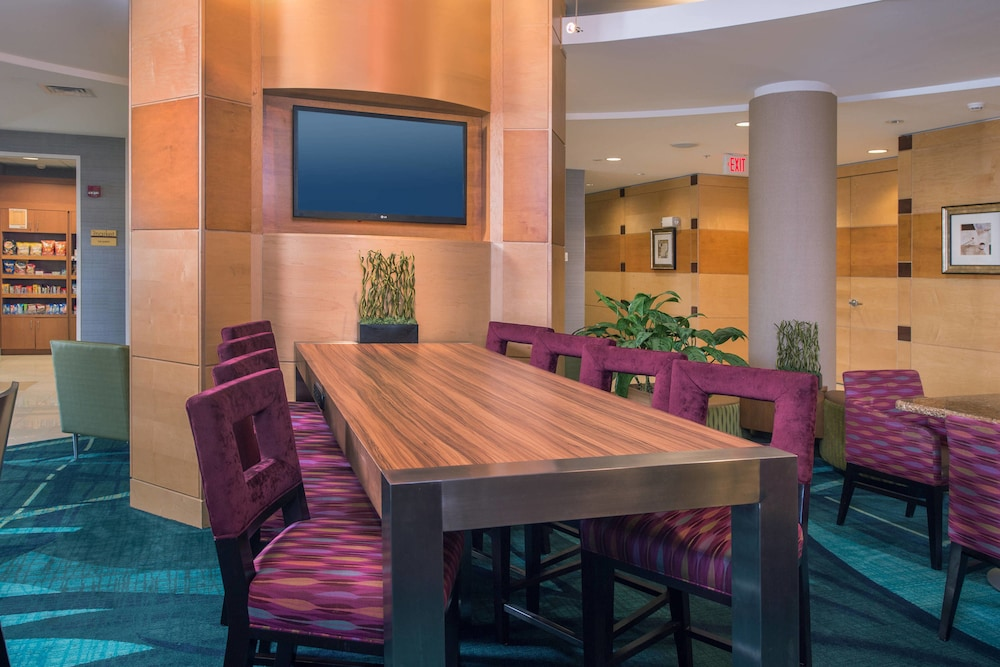 Lobby, Springhill Suites by Marriott Hagerstown