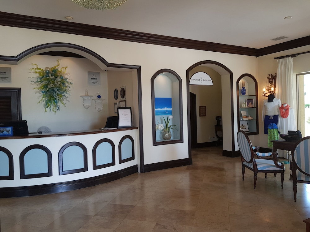 Lobby, The Somerset on Grace Bay