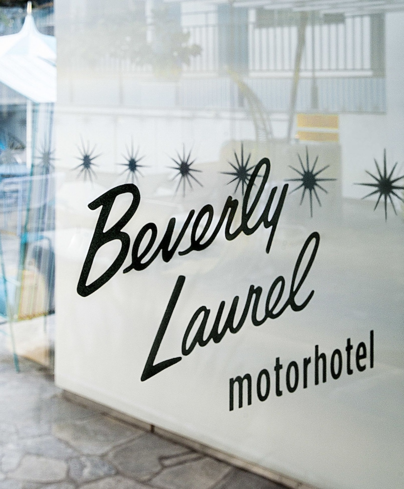 Front of Property, Beverly Laurel Hotel
