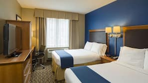 Pillow-top beds, in-room safe, desk, blackout curtains