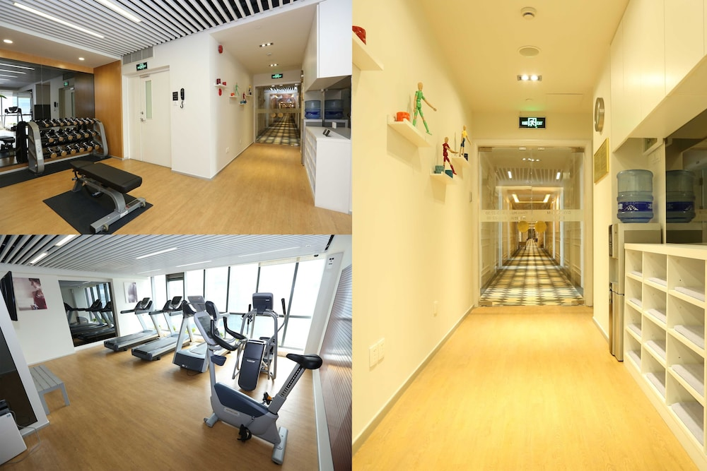 Gym, Green Court Residence City Center, Shanghai(Original name: Green Court Serviced Apartment-People's Square)