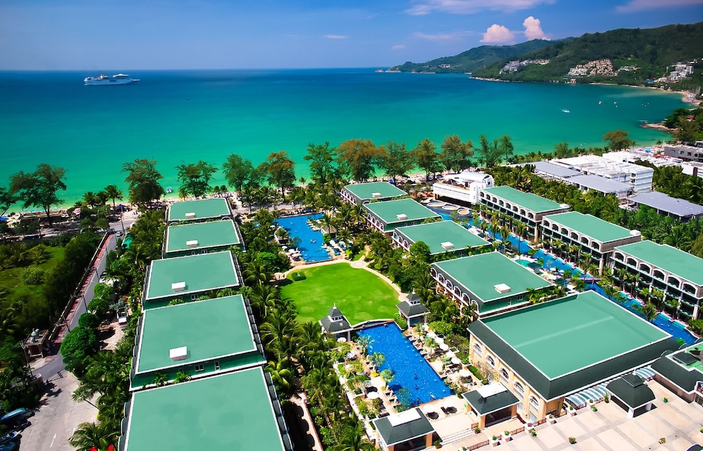 Aerial View, Phuket Graceland Resort And Spa