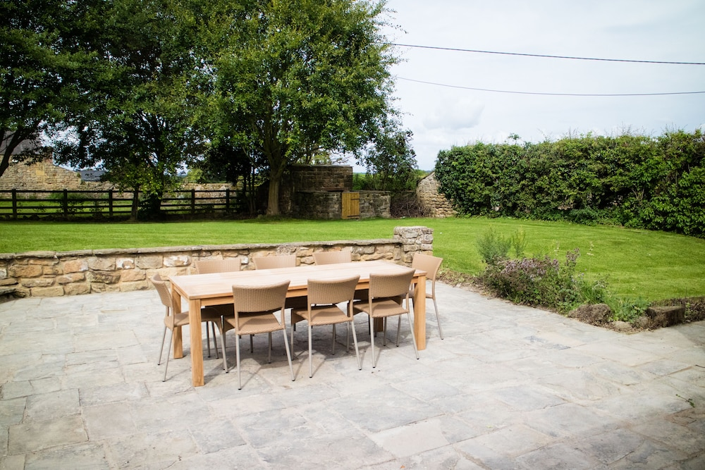 Terrace/Patio, Swinton Park Hotel