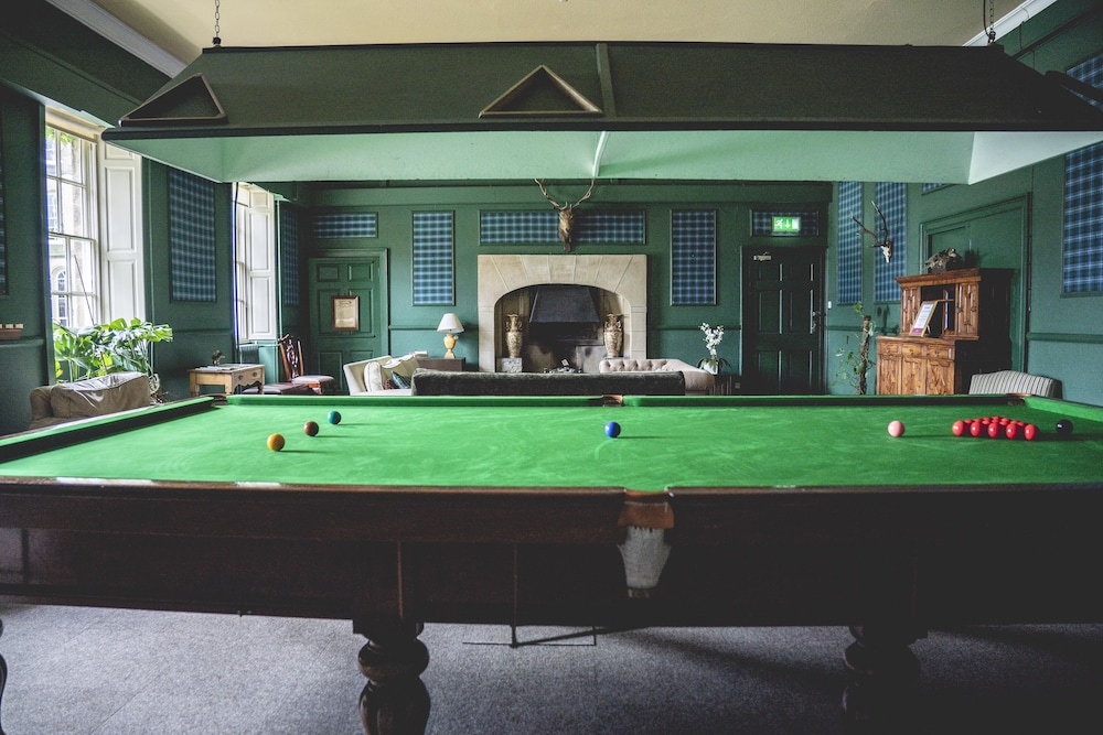 Billiards, Swinton Park Hotel