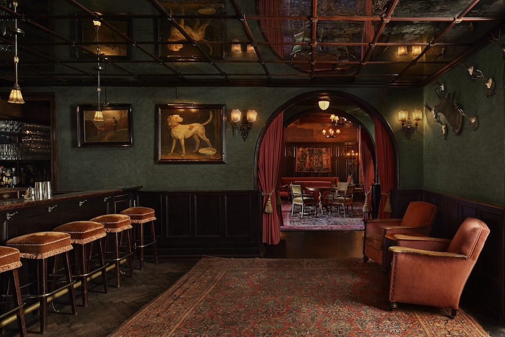 Bar, The Bowery Hotel