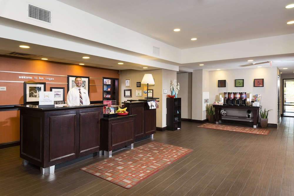 Reception, Hampton Inn & Suites Las Vegas South
