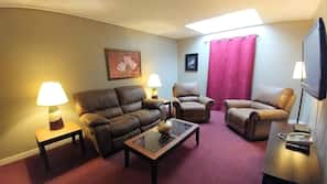 1 bedroom, in-room safe, blackout curtains, iron/ironing board