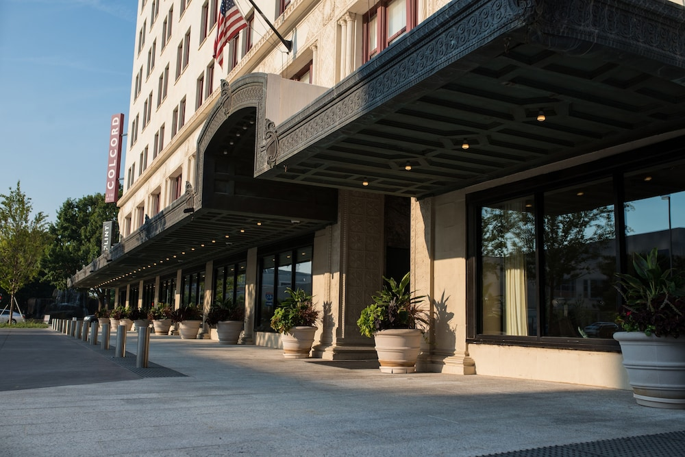 Front of Property, Colcord Hotel