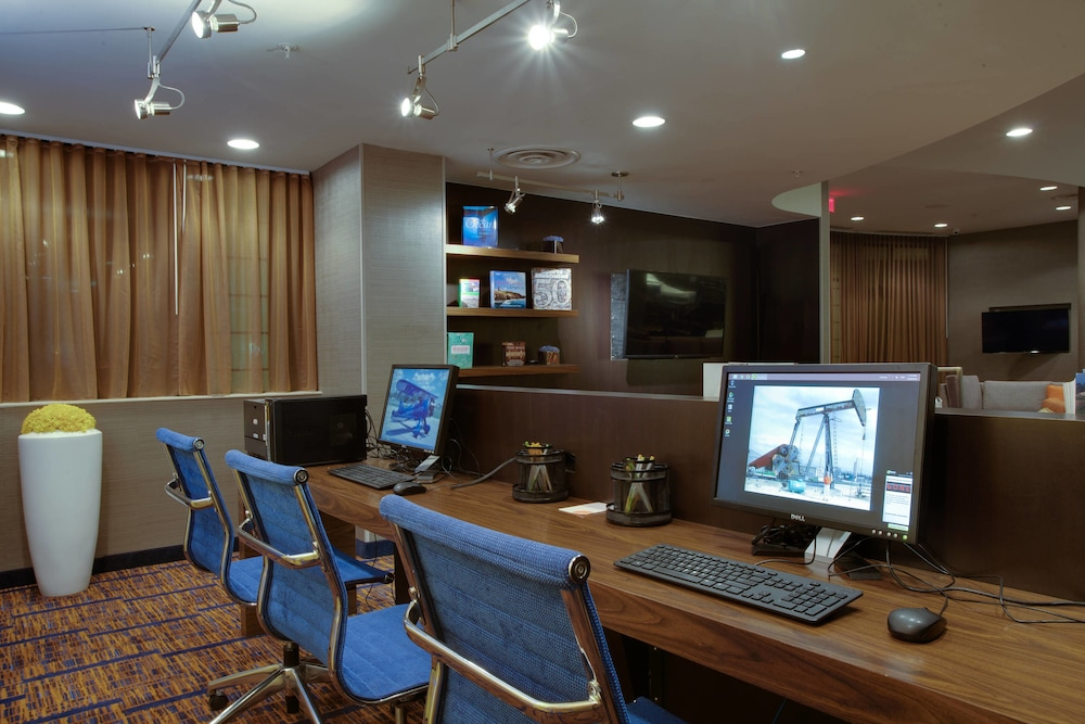 Business Center, Courtyard by Marriott Republic Aprt Long Island/Farmingdale