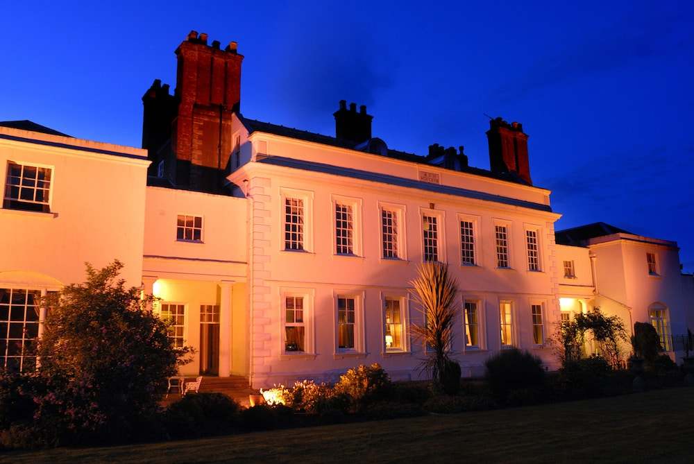 Front of Property - Evening/Night, Haughton Hall