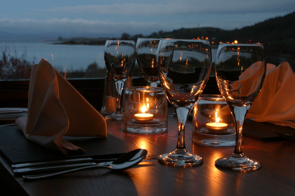 Outdoor Dining, The Isle of Mull Hotel and Spa