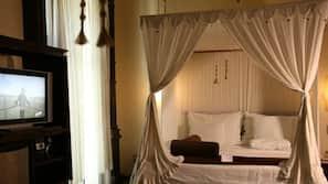 Ropa de cama de alta calidad, minibar, cortinas opacas y wifi gratis