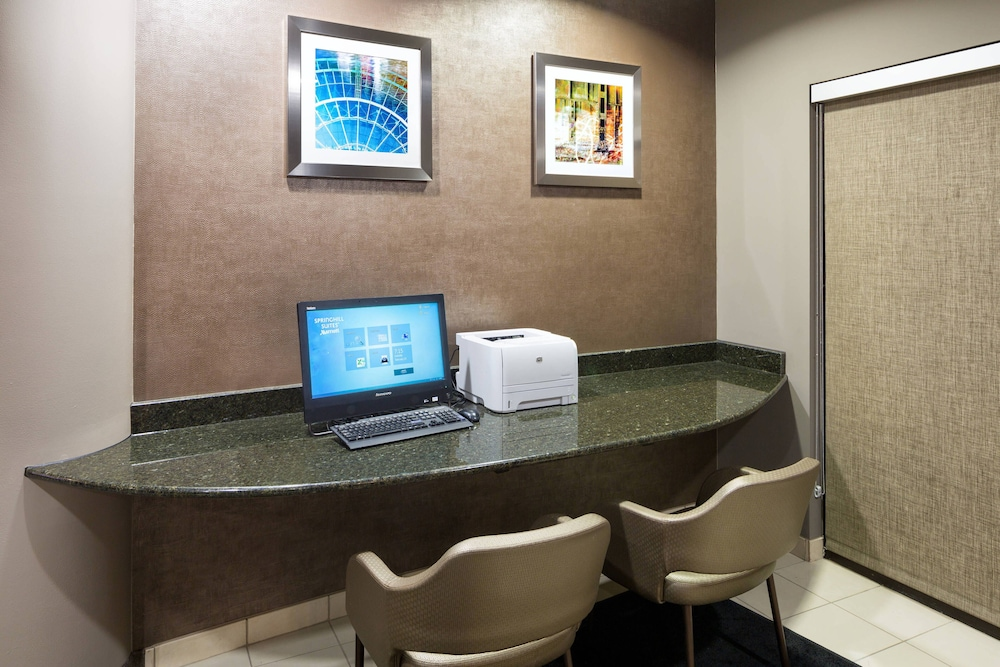 Business Center, SpringHill Suites by Marriott Indianapolis Fishers