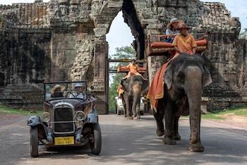 Sivatha Road, Siem Reap, Cambodia.