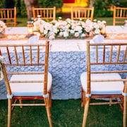 Außenbereich für Hochzeiten
