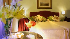 Memory-foam beds, minibar, in-room safe, individually decorated