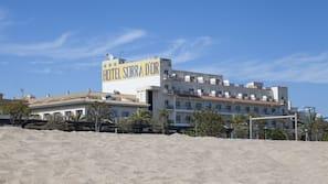 Accommodatie ligt op het strand